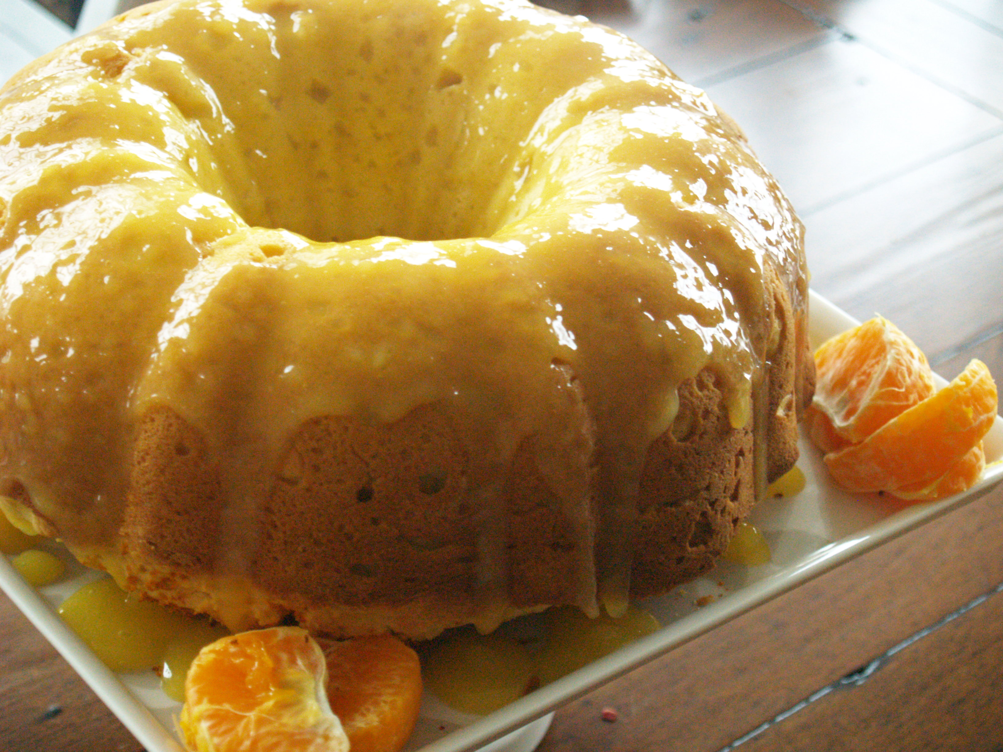 Orange Sour Cream Bundt Cake and…a Giveaway!