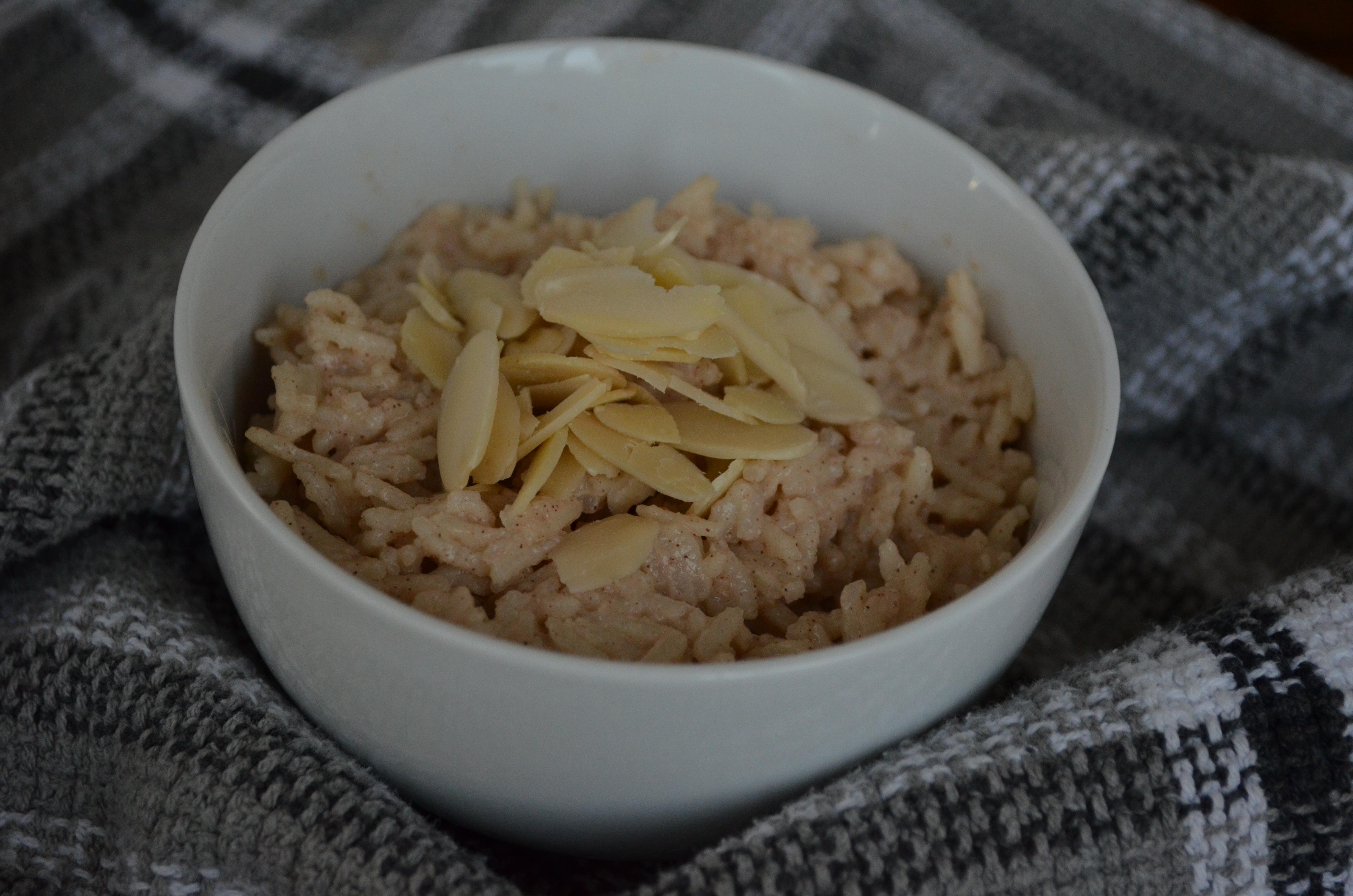 Creamy (Vegan!) Rice Pudding