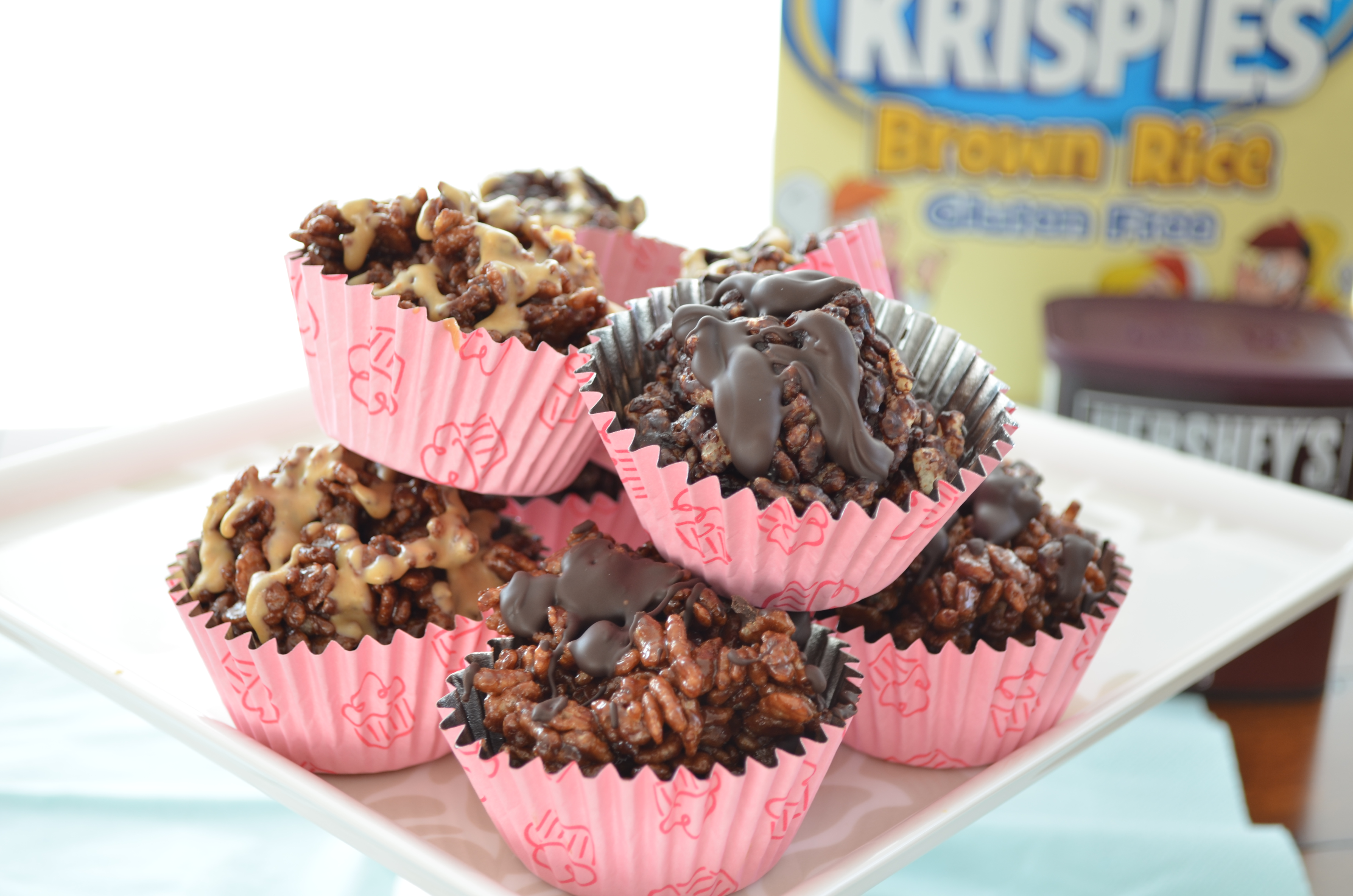 Chocolate and Chocolate Peanut Butter Rice Krispie Treats – The ...